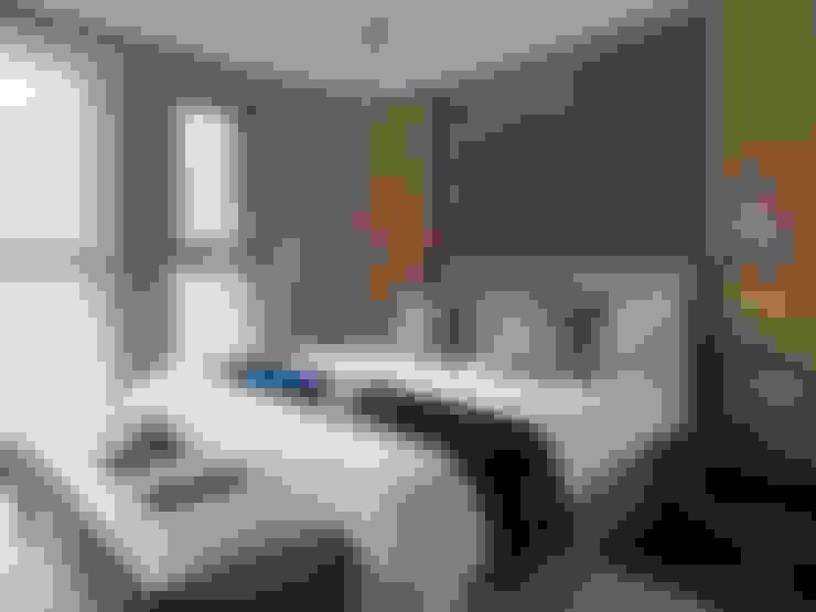 異彩隱映:  臥室 by 成綺空間設計