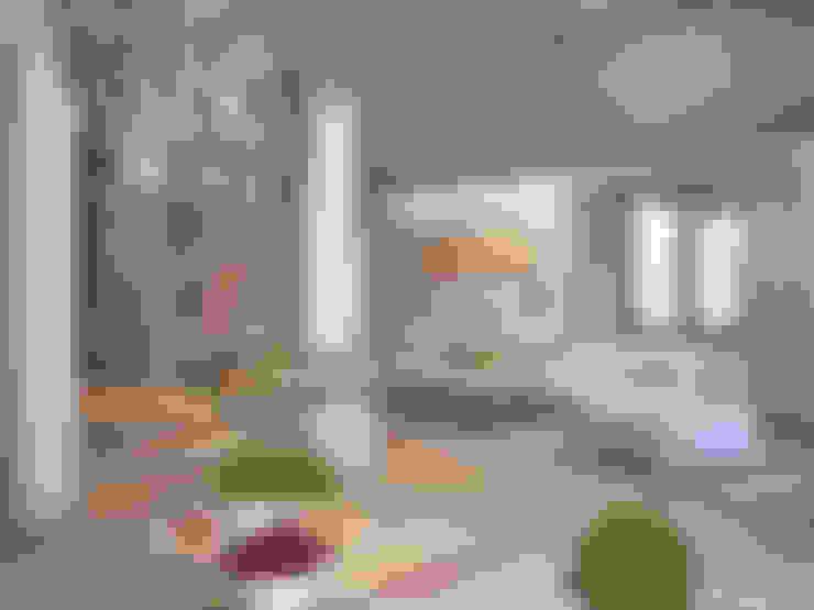 غرفة المعيشة تنفيذ премиум интериум