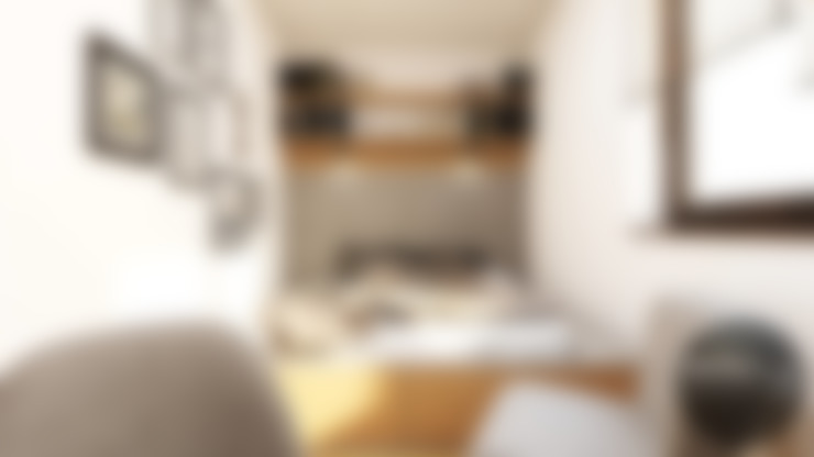 Chambre de style  par MONOstudio