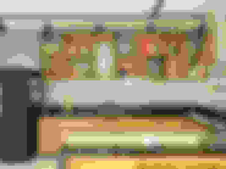 Cozinha Industrial: Cozinhas  por Bruna Rodrigues Designer de Interiores