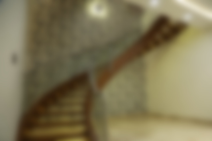 Corridor & hallway by Hasta architects