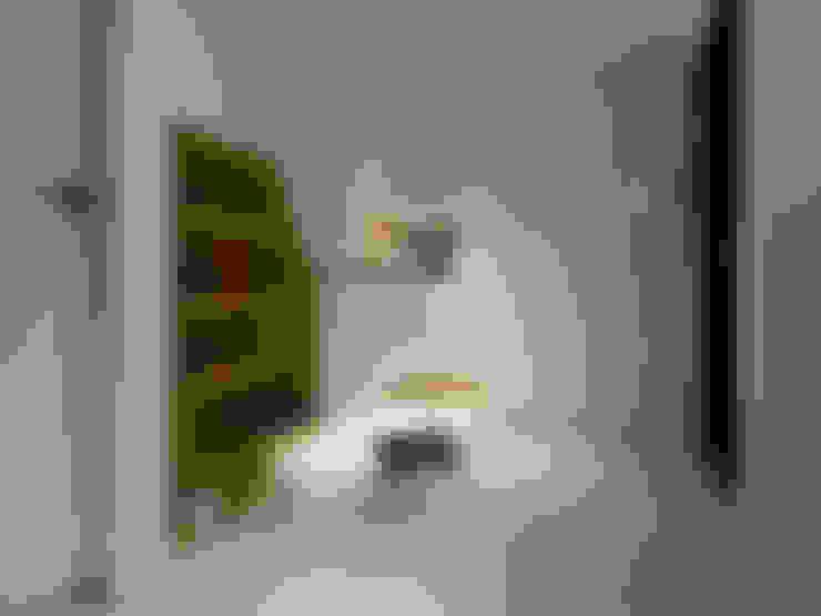皞・巢居:  臥室 by 藻雅室內設計