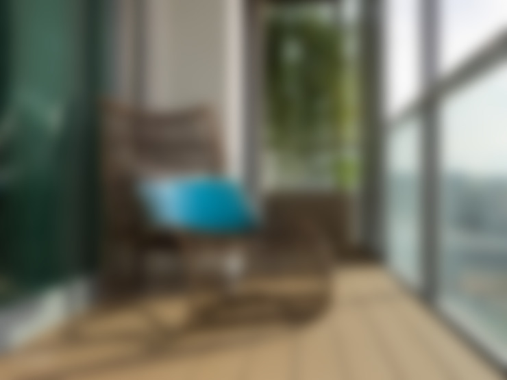 露臺 by MUDA Home Design
