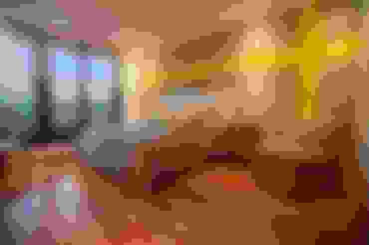 Habitaciones de estilo  por Horizontal Arquitectos