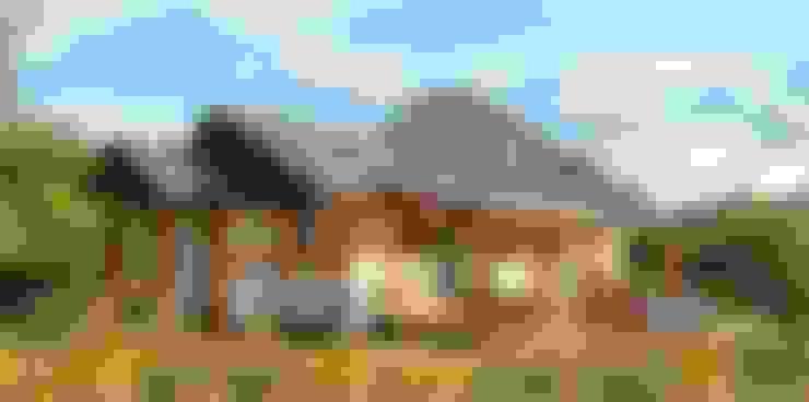 26평 소형 통나무집--강원 양구주택: 보국주택의