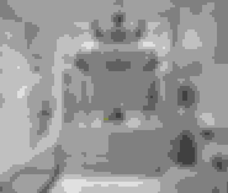 حمام تنفيذ Дизайн-бюро Анны Шаркуновой 'East-West'