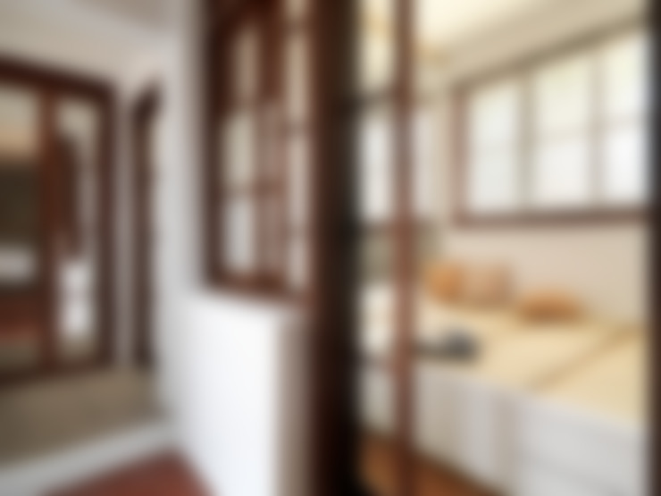 有涯齋:  臥室 by 築築空間