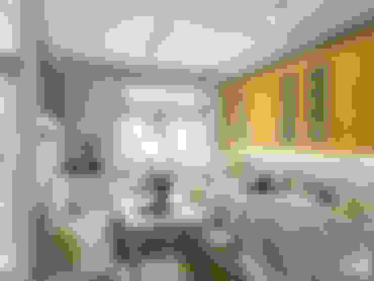 Итальянское вдохновение: Кухни в . Автор – Center of interior design