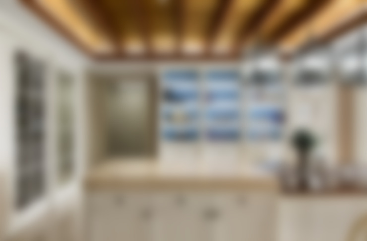 用光譜寫的美式鄉村風:  餐廳 by 辰林設計實業有限公司