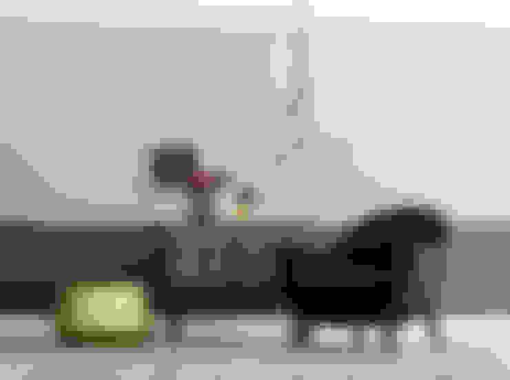 غرفة المعيشة تنفيذ SCHÖNER WOHNEN-FARBE