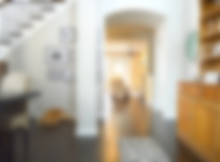 Couloir et hall d'entrée de style  par Brett Nicole Interiors