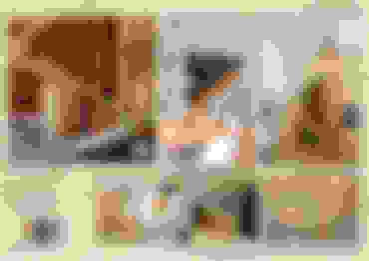 走廊 & 玄關 by Компания архитекторов Латышевых 'Мечты сбываются'