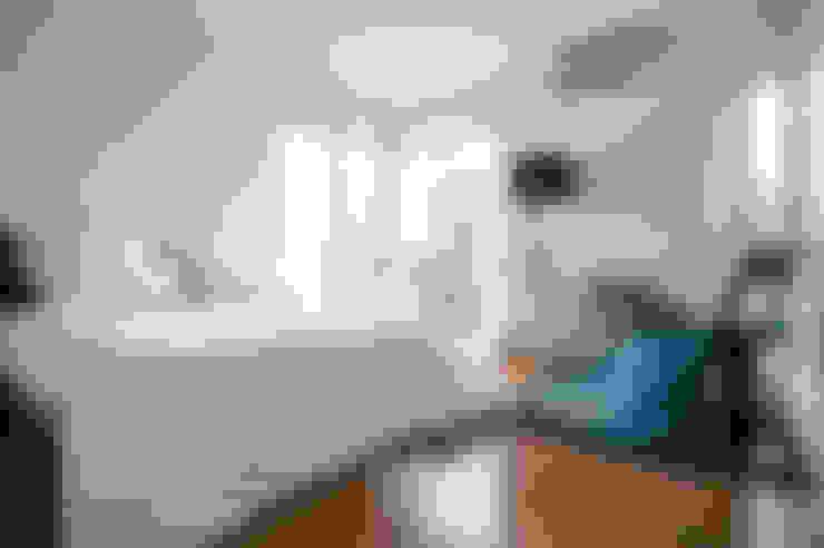 自然。隱逸 - 北歐風格:  臥室 by 有容藝室內裝修設計有限公司