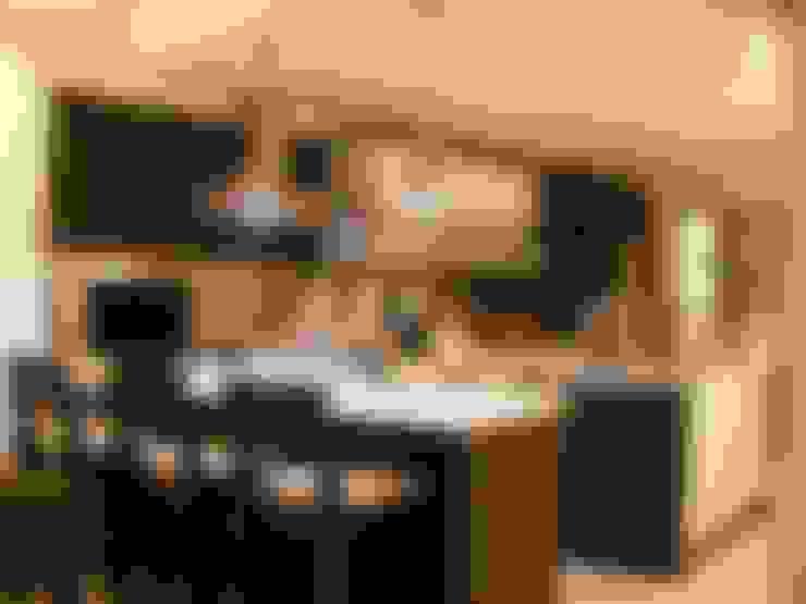 Cocinas de estilo  de FRACTAL CORP Arquitectura