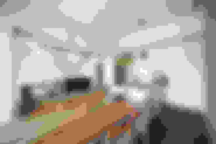 Dining room by 直譯空間設計有限公司