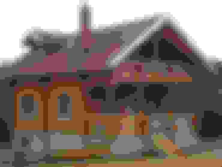 selin tomruk evleri – ahşap ev:  tarz Ahşap ev