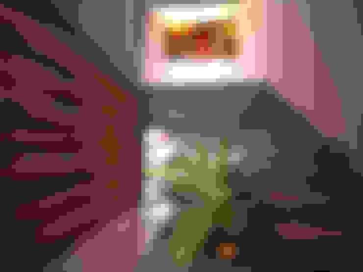 Corridor and hallway by Art.chitecture, Taller de Arquitectura e Interiorismo 📍 Cancún, México.