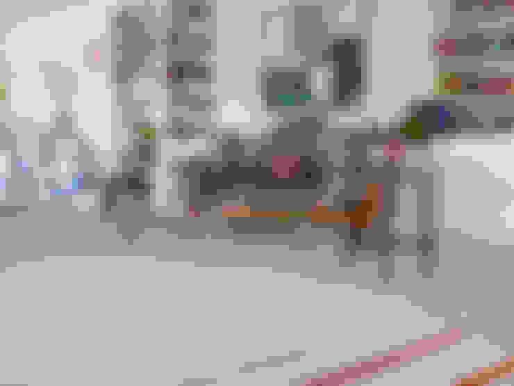 غرفة المعيشة تنفيذ Kiran Kelim & Teppich Kunst