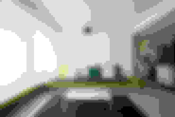 غرفة المعيشة تنفيذ homify
