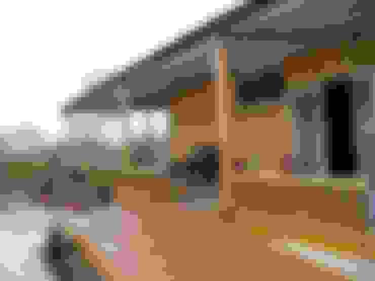 鄉村東和鋼構木屋의  주택