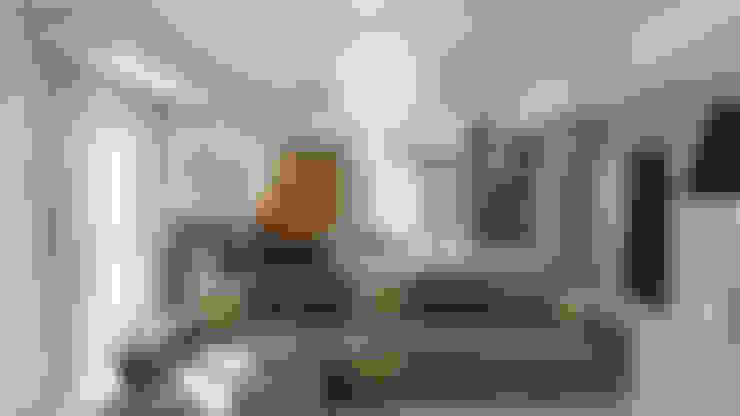Living room by Beniamino Faliti Architetto
