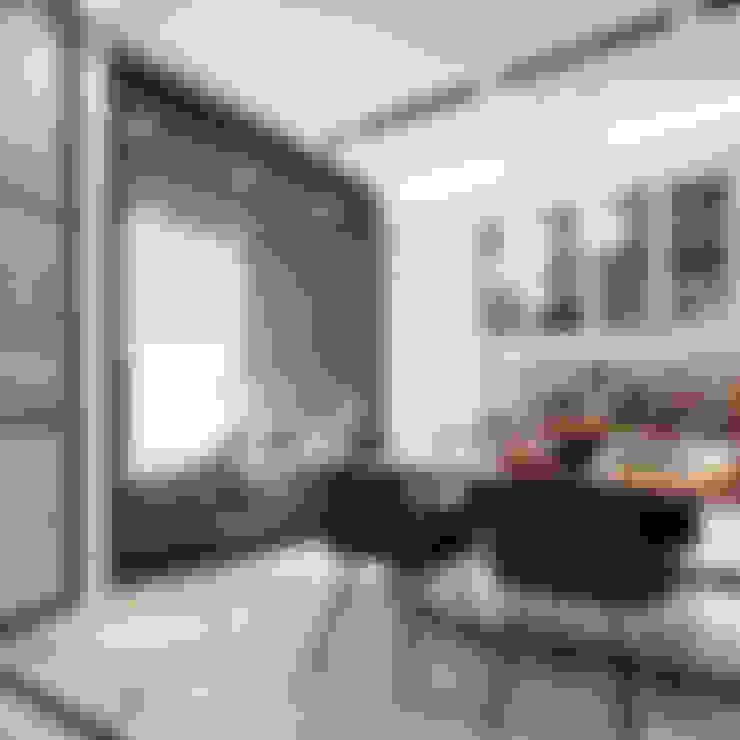Design project of the apartment in Zagreb (50 sq.m.): Кухни в . Автор – Entalcev Konstantin