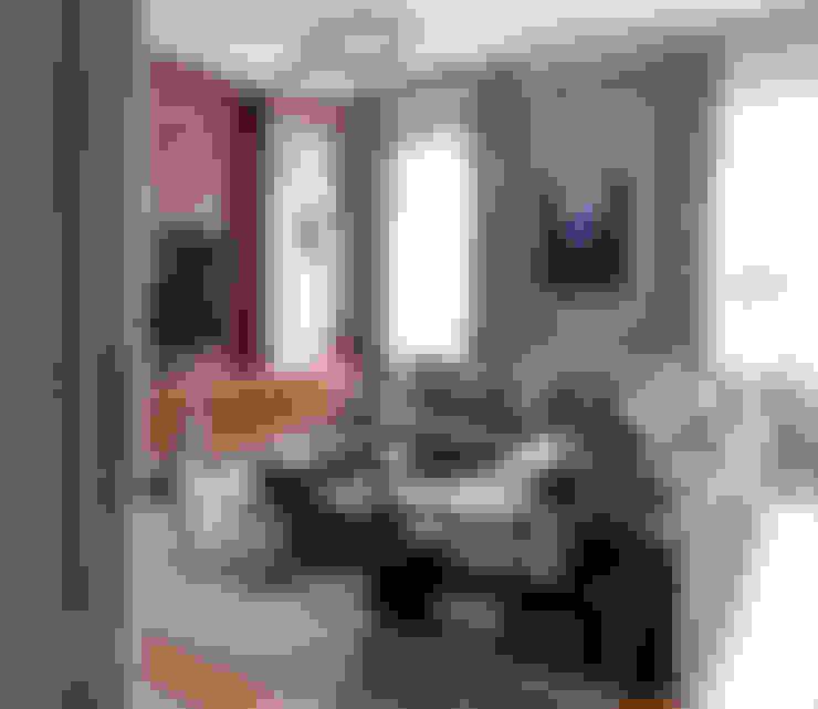 غرفة المعيشة تنفيذ MD Creative Lab - Architettura & Design