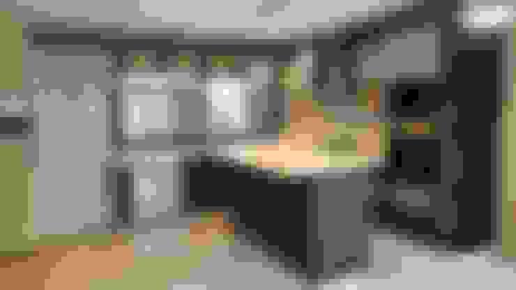 مطبخ تنفيذ Arquitecto Oscar Alvarez