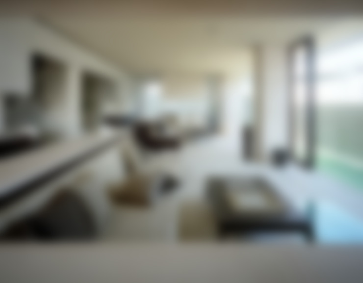 Salas de estilo  por 森裕建築設計事務所 / Mori Architect Office