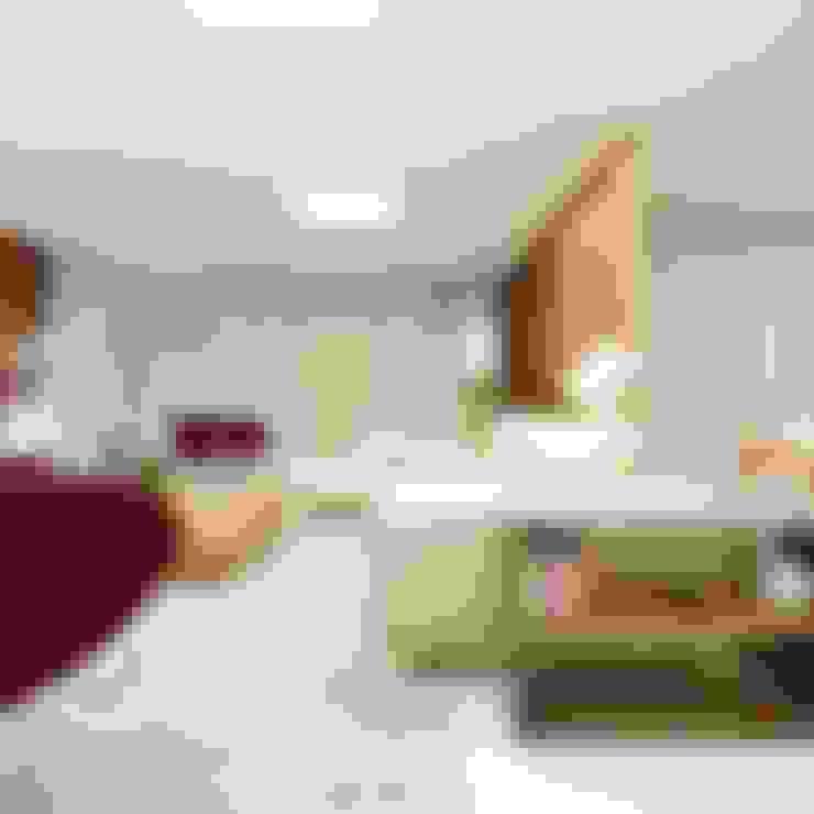 Salas de estilo  por Cíntia Schirmer | arquiteta e urbanista