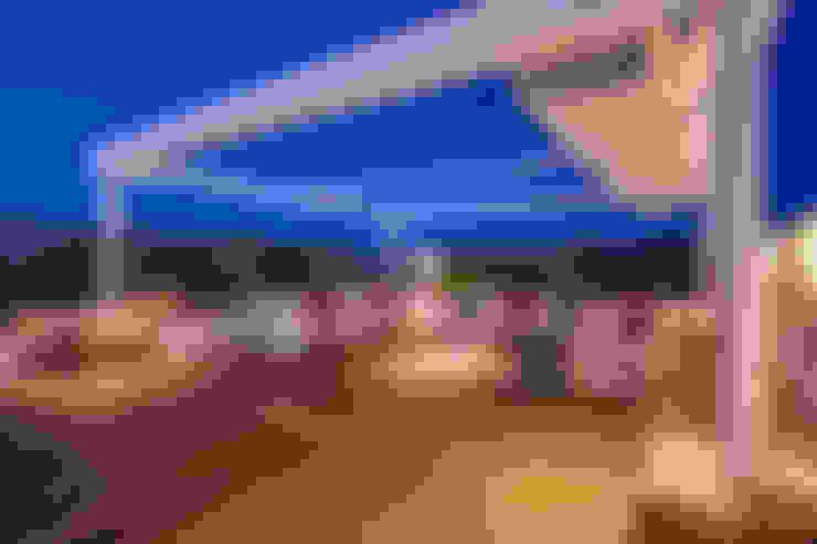 بلكونة أو شرفة تنفيذ MOB ARCHITECTS