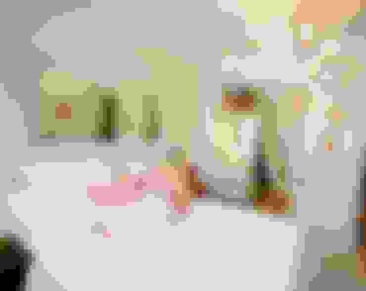 غرفة نوم تنفيذ Habitaka diseño y decoración
