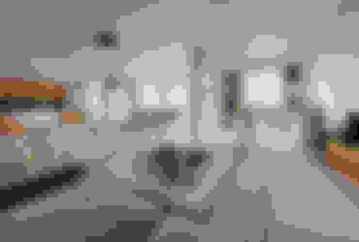 غرفة المعيشة تنفيذ GN İÇ MİMARLIK OFİSİ