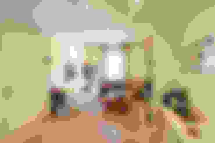 غرفة المعيشة تنفيذ Architetto De Grandi