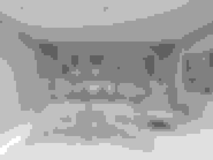 Dormitorios de estilo  por Larissa Vinagre Arquitetos