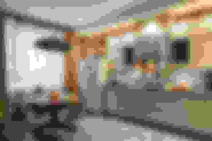 """Квартира в ЖК """"Wellton Park"""" - Алиса в стране чудес: Кухни в . Автор – Вира-АртСтрой"""