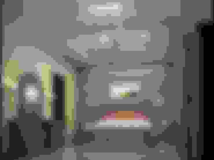 شقة مصرية بتصميم بين الكلاسيك والمودرن:  غرفة نوم تنفيذ Etihad Constructio & Decor