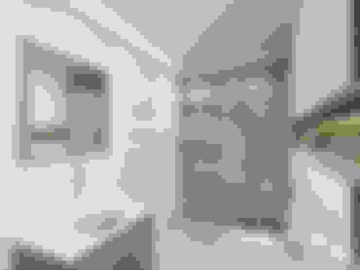 حمام تنفيذ PRØJEKTYW   Architektura Wnętrz & Design