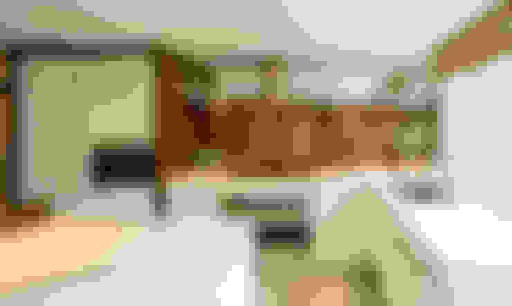 Corian Tezgah:  Kitchen by KREA Granit- Mutfak Banyo Tezgahları