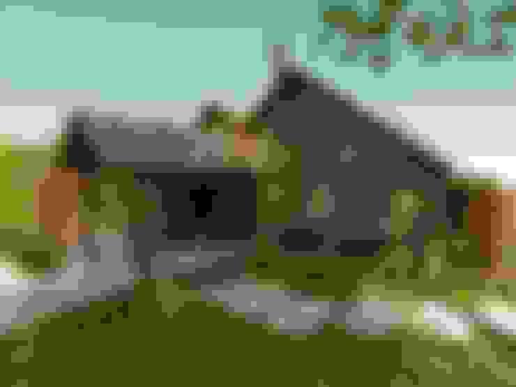 Casas campestres de estilo  por Cíntia Schirmer   arquiteta e urbanista