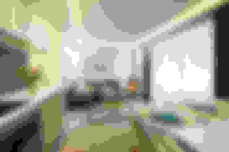 غرفة المعيشة تنفيذ DIKA estudio