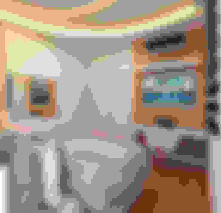 غرفة نوم تنفيذ Caio Pelisson - Arquitetura e Design