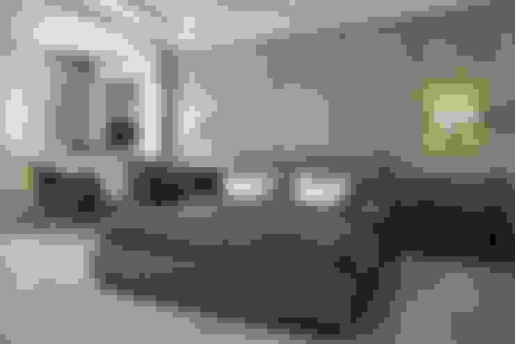 غرفة نوم تنفيذ Дизайн студия Алёны Чекалиной