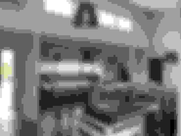 Vivienda unifamiliar en Barrio Cerrado: Casas de estilo  por JOM HOUSES