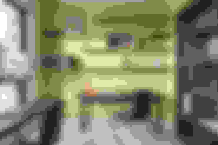 |坤山TC宅|:  書房/辦公室 by 賀澤室內設計 HOZO_interior_design
