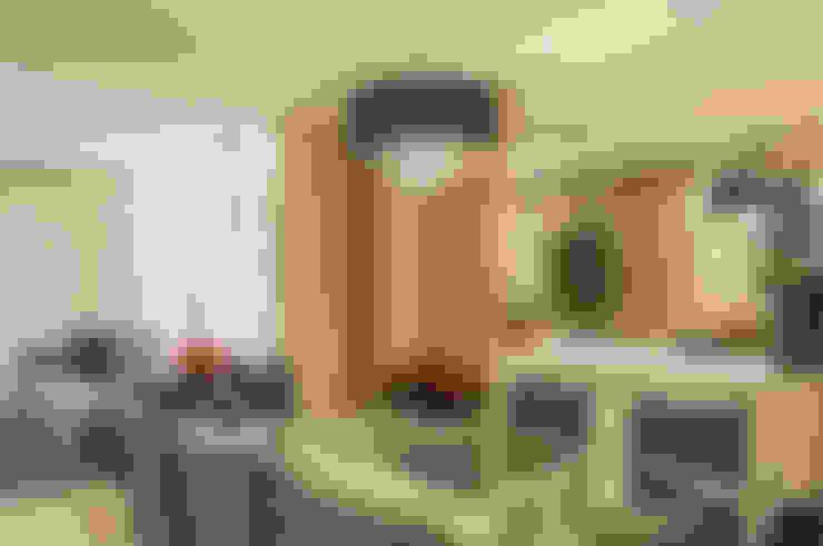 غرفة السفرة تنفيذ Priscila Boldrini Design e Arquitetura
