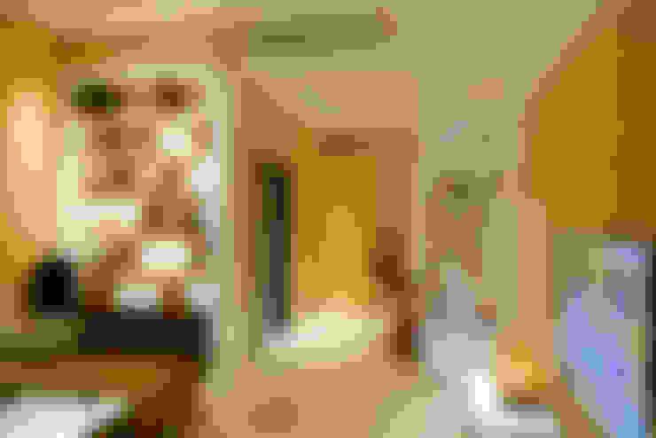 住宅|北歐鄉村混搭幸福居-高雄楠梓:  客廳 by 鹿敘空間設計