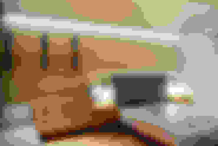 住宅|北歐鄉村混搭幸福居-高雄楠梓:  臥室 by 鹿敘空間設計
