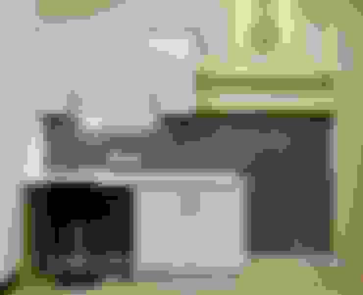 住宅|北歐鄉村混搭幸福居-高雄楠梓:  廚房 by 鹿敘空間設計