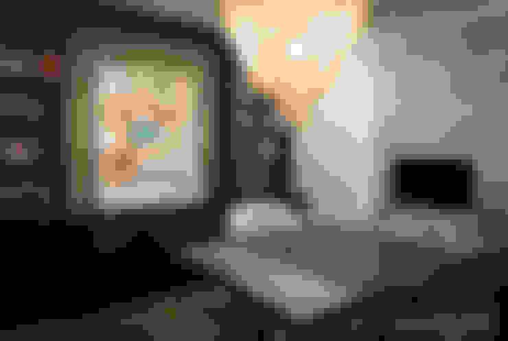 Projekty,  Domowe biuro i gabinet zaprojektowane przez Chibi Moku